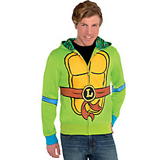 Leonardo Zip-Up Hoodie - Teenage Mutant Ninja Turtles