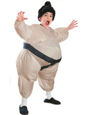 Boys Inflatable Sumo Wrestler Costume