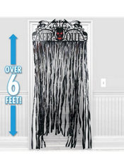 Spooky Hollow Doorway Curtain 78in