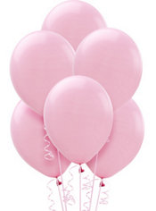 New Pink Latex Balloons 12in 15ct