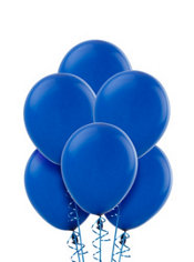 Royal Blue Latex Balloons 9in 20ct