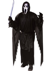 Adult Ghost Face Costume - Scream