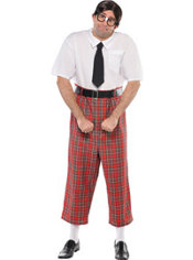 Adult Class Nerd Costume