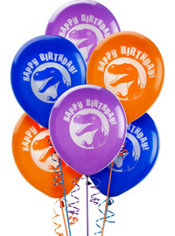 Latex Dinosaurs Birthday Balloons 12in 6ct