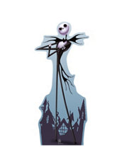 Jack Skellington Life Size Cardboard Cutout 70in