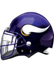 Minnesota Vikings Helmet Foil Balloon 26in
