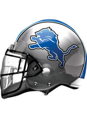 Detroit Lions Helmet Foil Balloon 26in