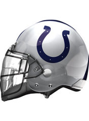 Indianapolis Colts Helmet Foil Balloon 26in