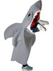 Boys Little Man Eating Shark Costume