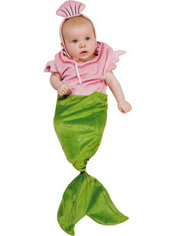Baby Mermaid Costume Baby Bunting