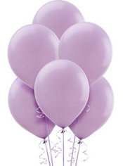 Lavender Latex Balloons 12in 72ct