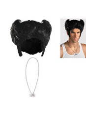 Wolverine Wig and Necklace Kit