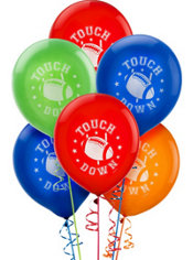 Football Latex Balloons 15ct