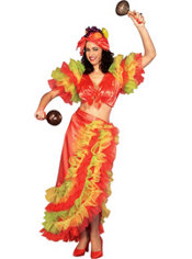 Adult Latin Dancer Costume