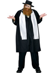 Adult Rabbi Costume Plus Size