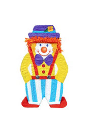 Giant Clown Pinata 38in