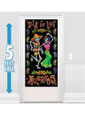 Day of the Dead Door Decoration 60in