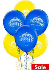 Denver Nuggets Balloon 6ct