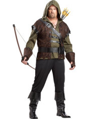 Adult Robin Hood Costume Plus Size