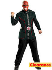 Adult Red Skull Costume Deluxe - Captain America