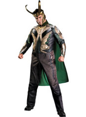 Adult Loki Costume Plus Size Deluxe - Thor