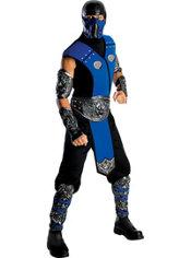 Adult Sub-Zero Costume Deluxe – Mortal Kombat