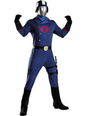 Adult Cobra Commander Costume Deluxe - G.I. Joe