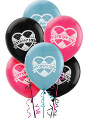 Happy Birthday Monster High Balloons 6ct