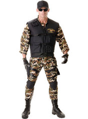 Adult SEAL Team Costume Deluxe