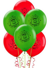 Latex Yo Gabba Gabba Balloons 12in 6ct