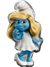 Foil Smurfette Balloon 36in
