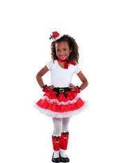 Child Santa Costume Kit 6pc