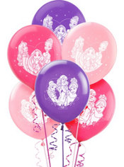 Disney Princess Balloons 12in 6ct
