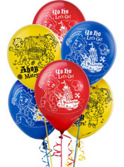 Jake and the Never Land Pirates Balloons 6ct