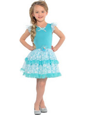 Girls Tutu Elsa Dress - Frozen