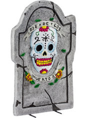 Day of the Dead Tombstone Decoration