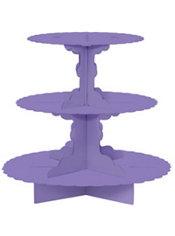 Purple Cupcake Stand