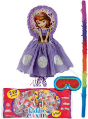 Pull String Sofia the First Pinata Kit Deluxe