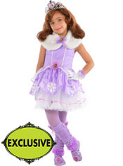 Girls Tutu Sofia the First Costume
