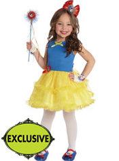 Girls Tutu Snow White Costume