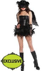 Adult Tutu Fantasy Raven Costume