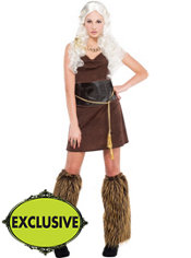 Adult Mother of Dragons Warrior Costume