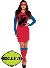 Adult Sassy Spider-Girl Costume
