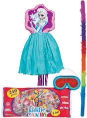Pull String Elsa Pinata Kit Deluxe - Frozen