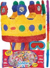 Pull String Crown Pinata Kit
