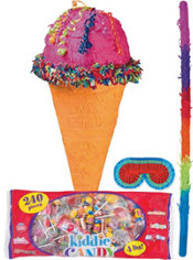 Ice Cream Cone Pinata Kit
