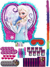Pull String Anna & Elsa Pinata Kit with Favors - Frozen