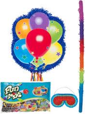 Pull String Personalized Balloons Pinata Kit