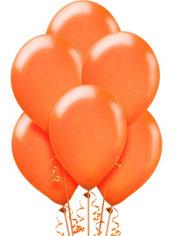 Orange Pearl Balloons 15ct