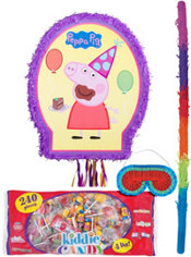 Pull String Peppa Pig Pinata Kit